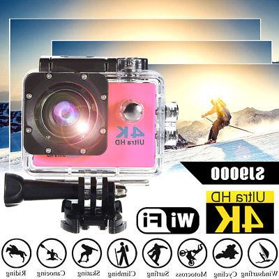 Waterproof Sport Camera 1080P DVR W/ RC