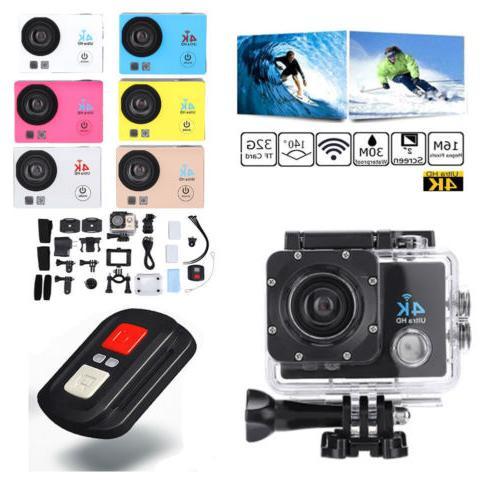 SJ9000 Wifi 4K 1080P Ultra HD Sport Action Camera DVR Camcor