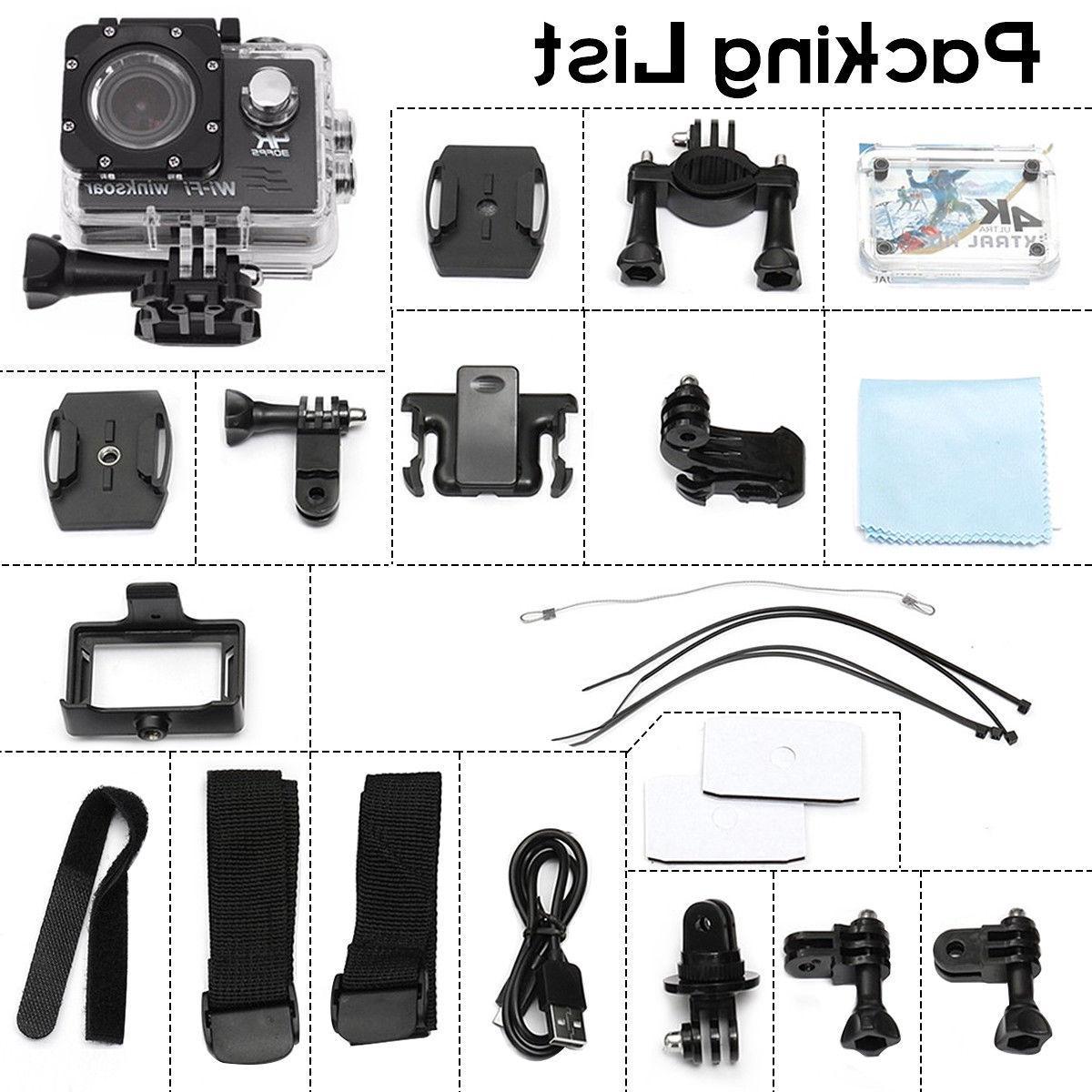 Waterproof SJ9000 Wifi 1080P Action Camcorder