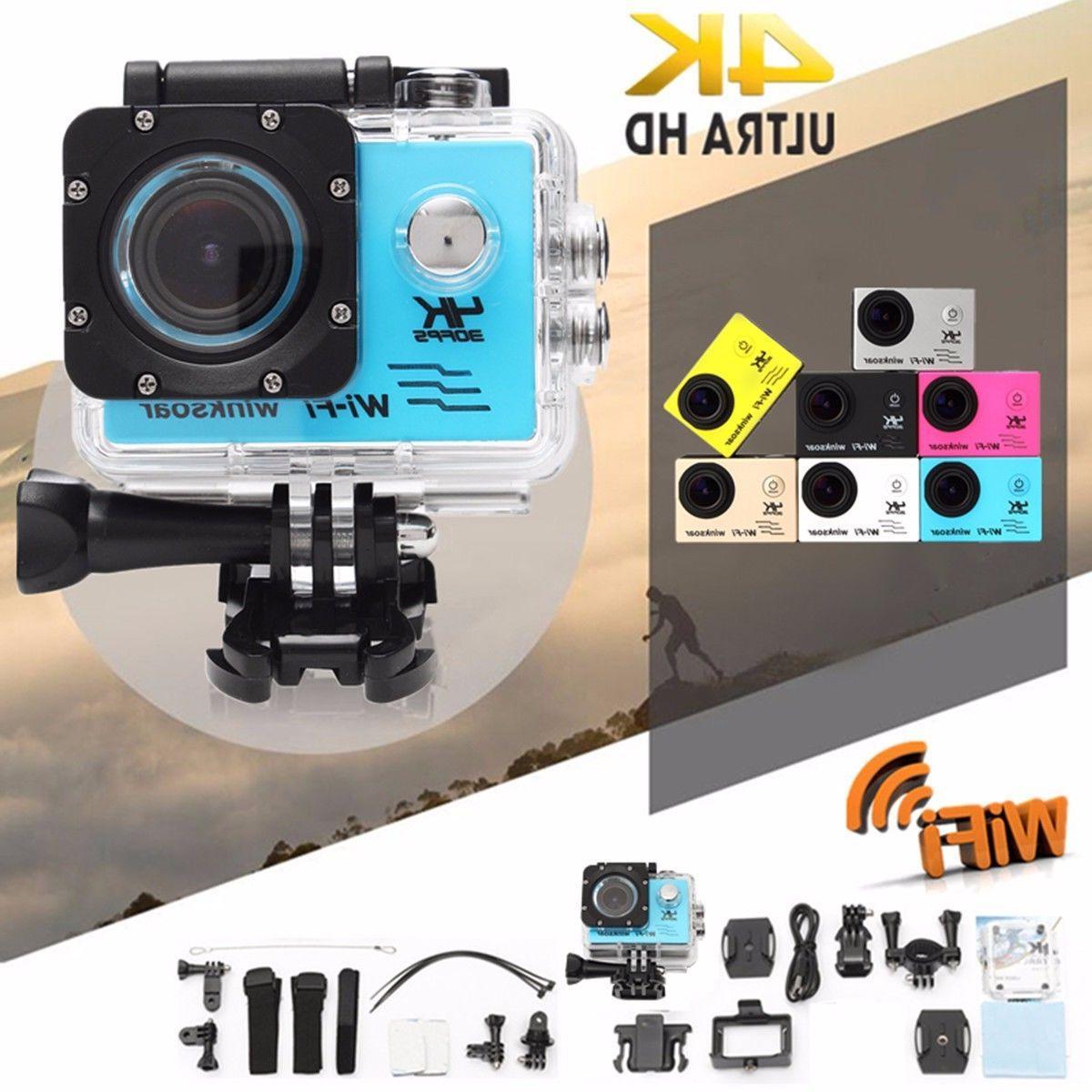 Waterproof Wifi HD Action Camera DVR Camcorder