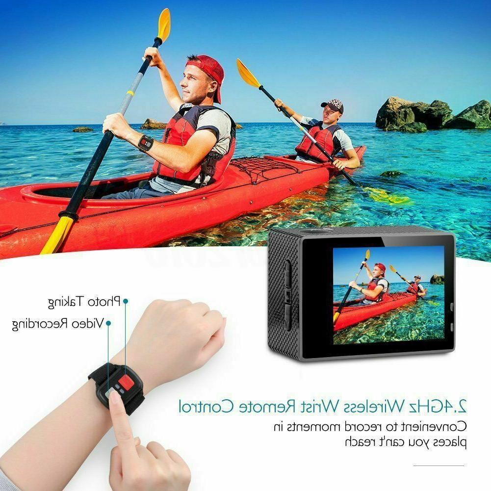 waterproof ultra 4k wifi 1080p hd sports