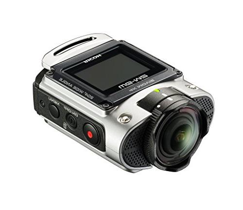 Ricoh WG-M2 Wi-Fi 4K Ultra HD Video Action Camera Camcorder