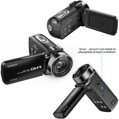 """WiFi Video Camera Camcorder 1080P 24MP 3.0"""" Recorder"""