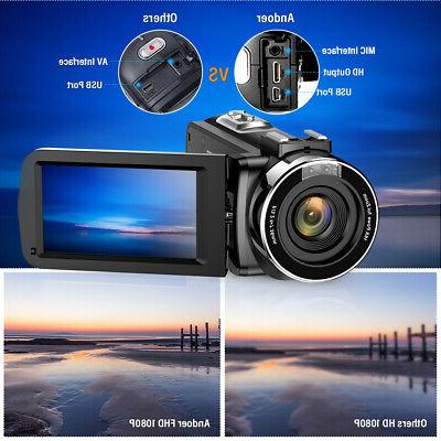 """Video Camcorder 24MP 3.0"""""""