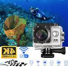 4K WIFI Sports Action Camera Ultra HD Waterproof DV Camcorde