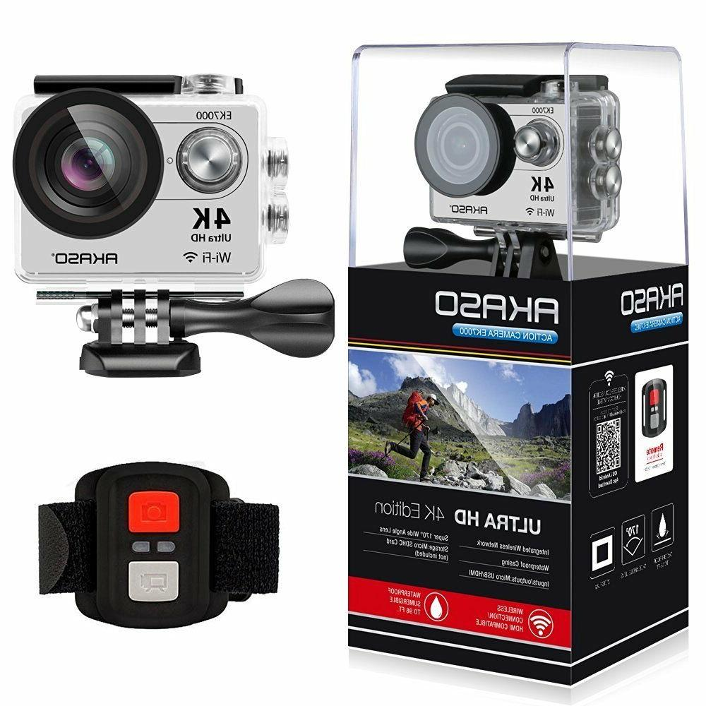 HD 4K WIFI Sports Action Camera Waterproof Travel DV Camcord