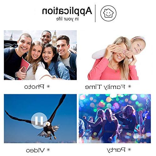 Video Camera WiFi Camcorder Digital Camera 1080P 30FPS Zoom Vlogging Camera Microphone Rotatable Screen Time-Lapse Photography Night