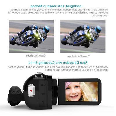 Andoer WiFi 1080P 24MP Digital Camera DV Microphone