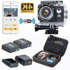 HD 4K 1080P WiFi DV PC Cam Action Sports Camera Video Camcor