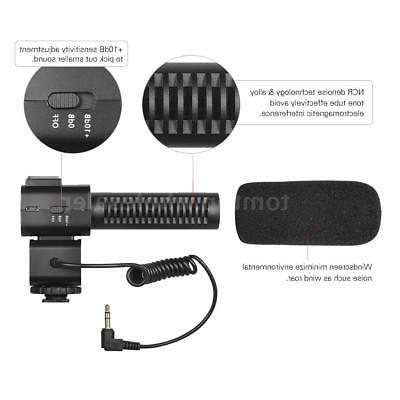 Andoer FULL IPS 1080P 24MP Video &Microphone