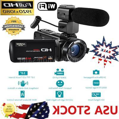 wifi full hd 1080p 24mp digital video