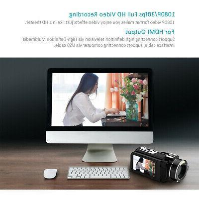 Digital Camcorder FULL 24MP 16X ZOOM Vision