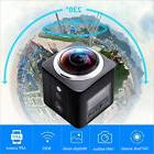 360° Wifi Quad HD DV Cam Waterproof Sports Action Camera Ca