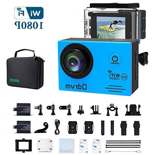 WIFI Underwater Camera HD 1080P Action Camera Waterproof Wit