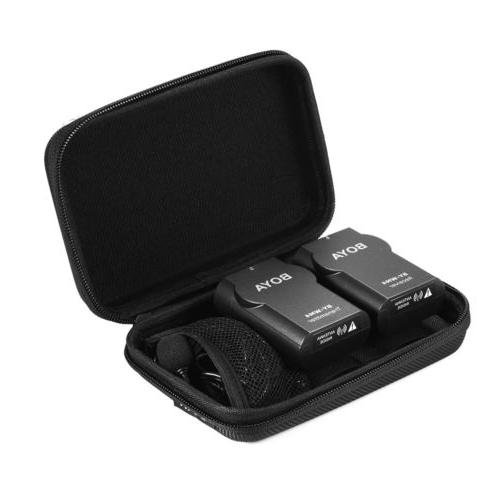 Wireless Lavalier Microphone for Canon Nikon DSLR Camera Cam
