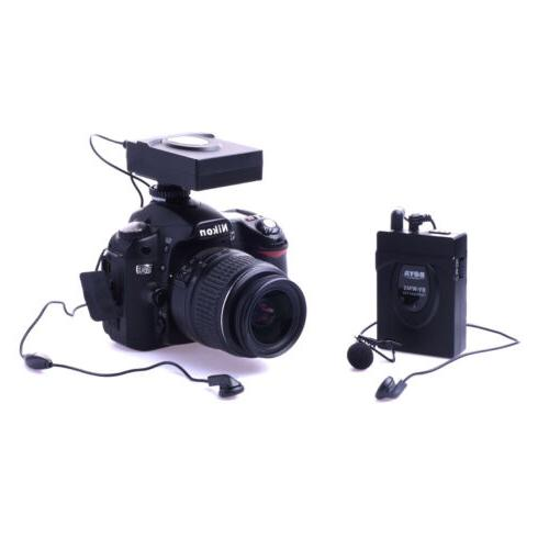 wireless microphone by wm5 for dslr camera