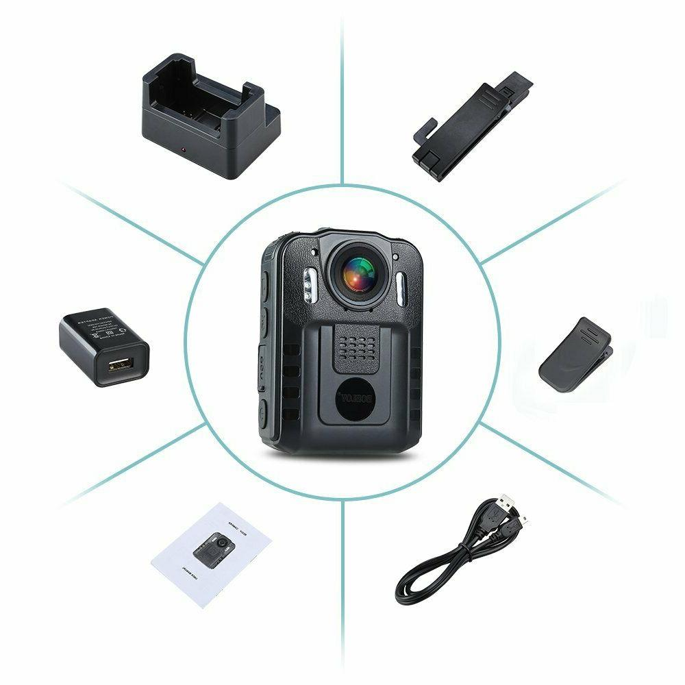 Boblov Full HD Compact Body Police Camera Pocket Action Cam