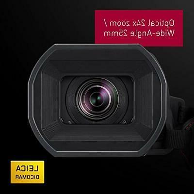 Panasonic X1500 4K Camcorder with Zoom, WiFi HD