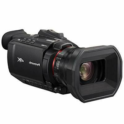x1500 4k professional camcorder with 24x optical
