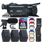 Canon XA11 Professional Camcorder + 2 Extra Battery + Shotgu