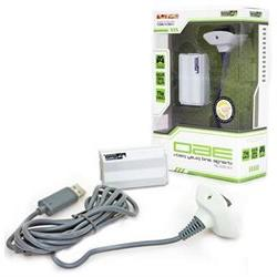Xbox 360 - Charger - Charge and Play Pack - White