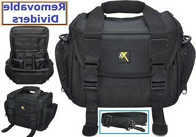 Durable Camcorder Carrying Bag Case For Panasonic HC-V180K H
