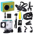 1080P Original Xiaomi Yi CAM Action Camera+Accessories+Charg