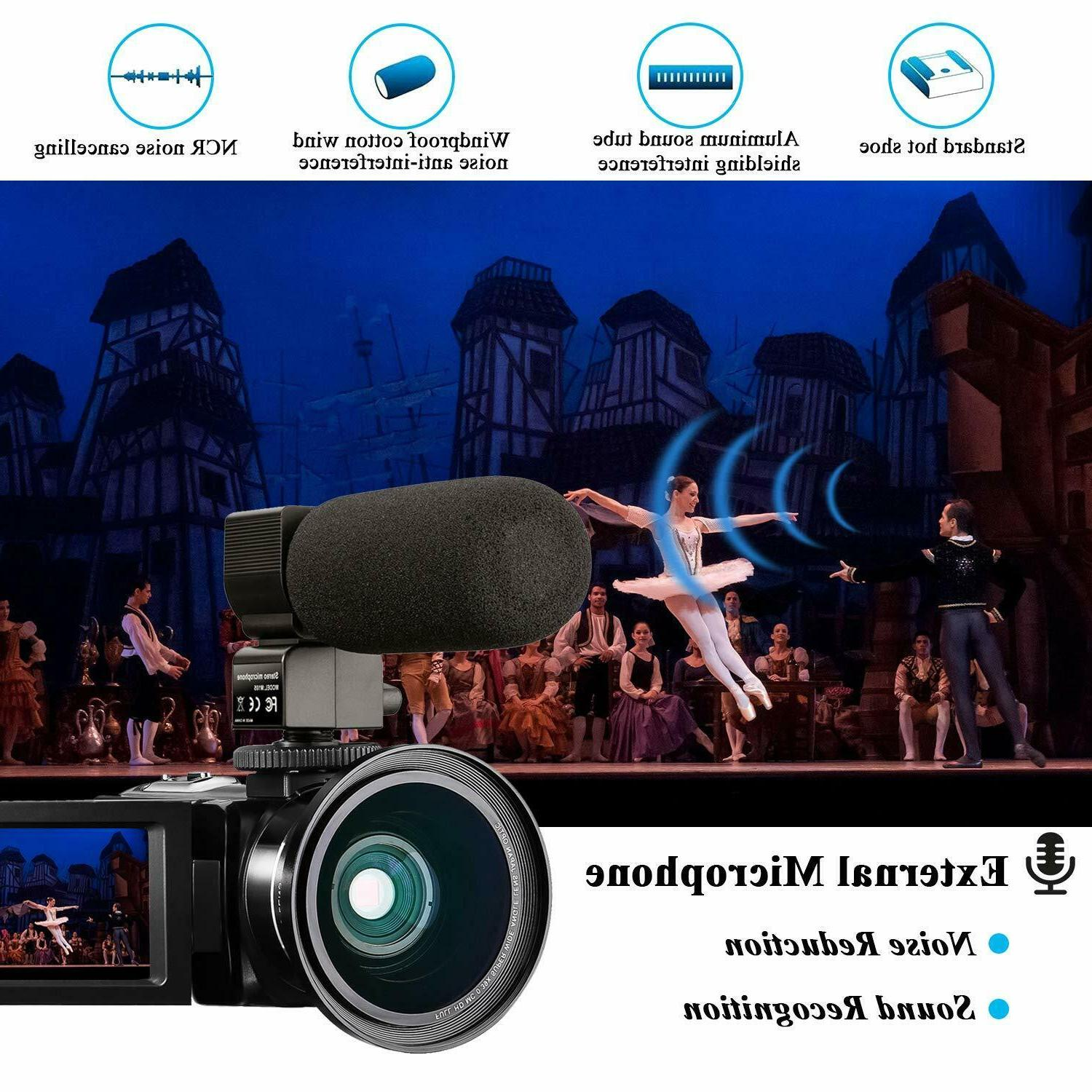 YouTube Camcorder 24MP IR 32GB