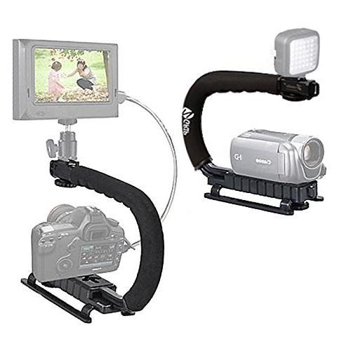 Zeadio Video Action Handle Grip Handheld with Mount for Canon Sony Pentax Olympus Camcorder