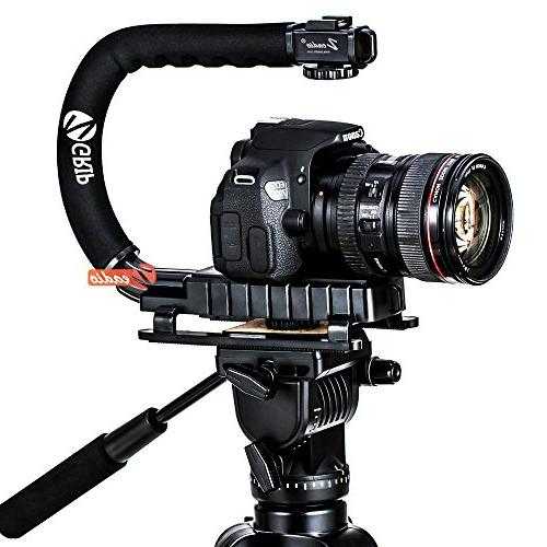 Zeadio Handle Stabilizer Canon Sony Pentax DSLR Camcorder