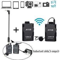 BOYA BY-WM2G Lavalier Wireless Microphone with GoPro Cable A