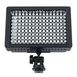 Fotga PRO Ld-160 Studio LED Hot Shoe Light for Canon Nikon C