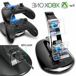 LED Dual Fast Charging Dock Station Charger for Xbox One / X
