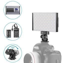 LED Video Light Panel Camera/Camcorder Video Fill Lighting