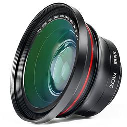 Camera Lens, Besteker 72MM 0.39x Photo Professional HD Wide