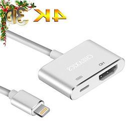 Lightning to HDMI, iphone HDMI Adapter, Lightning Digital AV
