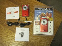 Lot of 2 - Jazz Hi-Def 720 Video Recorder w/ 5MP Still Camer