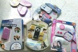 Lot of 5 Digital Cameras Camcorder Micro Kids Assorted Camer