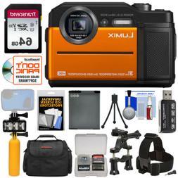 Panasonic DC-TS7D Lumix TS7 Waterproof Tough Camera, 20.4 Me