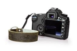 The Lutsen Leather and Felt Camera Wrist Strap by Portage Su