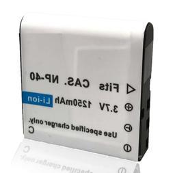 Mattery NP-40 Li-ion Battery 3.7V 1250mAh for KINGEAR HDV-30