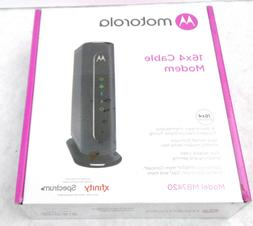 Motorola MB7420 16x4 Cable Modem, 686 Mbps DOCSIS 3.0
