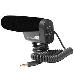 pixel MC-550 Professional VideoMicro Microphone Lightweight
