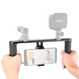 Neewer Metal Smartphone Video Rig,Filmmaking Recording Vlogg