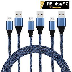 Micro USB Cable, USB to Micro USB Android Charger Cord, High