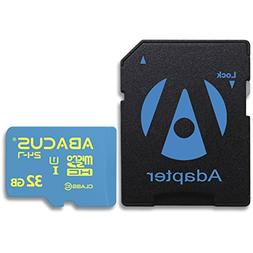 Abacus24-7 32GB microSD Memory Card with SD Adapter for Ando