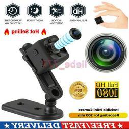 Mini 1080P HD Hidden Camera DVR Security Video Record Motion