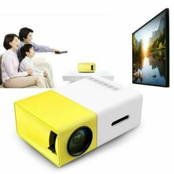 Mini 1080P HD Multimedia Portable Projector LED Home Theater