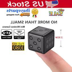 Mini Camera Wireless 1080P DVR Camcorder Home Surveillance H