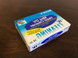 Sony Mini DV Head Cleaner Tape - NEW, DVM-12CLD